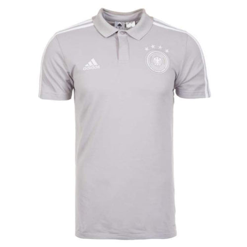 Polos / Short Sleeve: Adidas Germany 2018 Cotton Polo Shirt (Grey) Ce6586 - Adidas / Xs / Grey / 2018 2018 Fifa World Cup 2018 World Cup
