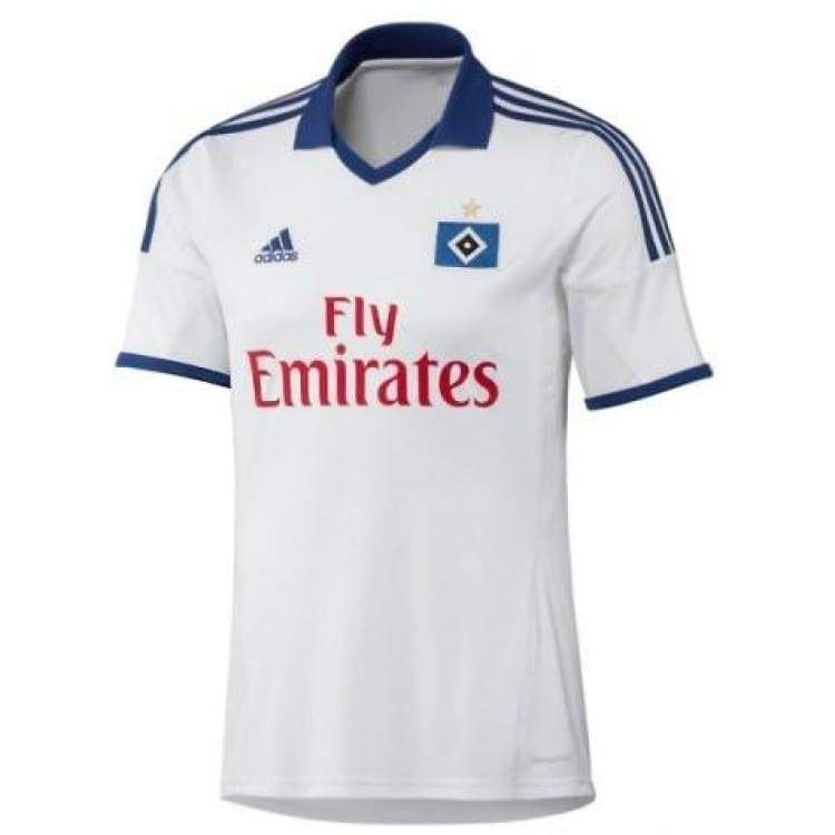 Jerseys / Soccer: Adidas Hamburg 13/14 (H) S/s Z27080 - Adidas / L / White / 1314 Adidas Clothing Hamburg Home Kit |