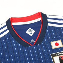 Jerseys / Soccer: Adidas Japan 2018 (H) S/s Authentic Jersey Br3628 (Japan Version) - 2018 2018 Fifa World Cup 2018 World Cup Adidas Blue