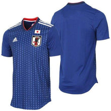 Jerseys / Soccer: Adidas Japan 2018 (H) S/s Authentic Jersey Br3628 (Japan Version) - Jaspo: O / Adidas / Blue / 2018 2018 Fifa World Cup