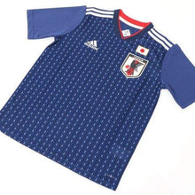 Jerseys / Soccer: Adidas Japan 2018 (H) S/s Kids Jersey Br3644 - 2018 2018 Fifa World Cup 2018 World Cup Adidas Blue