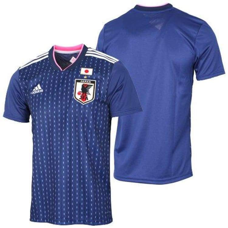 Jerseys / Soccer: Adidas Japan 2018 (H) S/s Womens Jersey Br3606 (Japan Version) - Jaspo: L / Adidas / 2018 2018 Fifa World Cup 2018 World