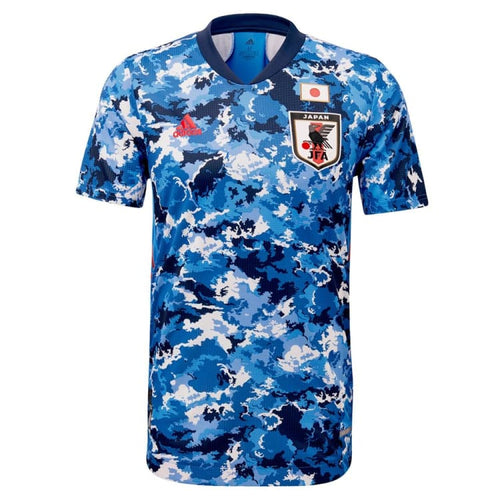 Jerseys / Soccer: Adidas Japan 2020 (H) S/S Jersey ED7350 - 2020, adidas, Blue, Clothing, Home Kit | OCHK-SFALO-ED7350-BLU-XS