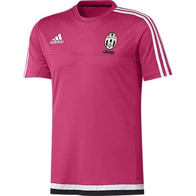 Tops / Warm Up: Adidas Juventus 15/16 Training Shirt S19397 - Adidas / M / Red / 1516 Adidas Clothing Juventus Land |