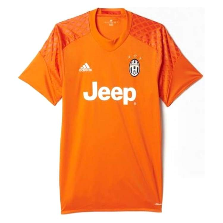 Jerseys / Soccer: Adidas Juventus 16/17 (H) Gk Shirt S/s Ap8910 - Adidas / Xs / Orange / 1617 Adidas Clothing Goalkeeper Home Kit |