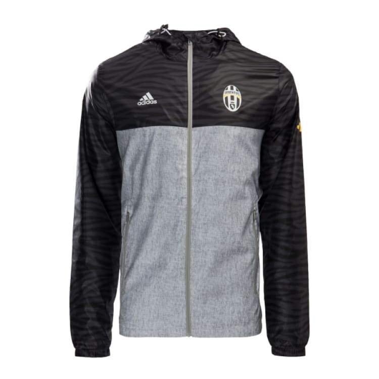 Jackets / Windbreaker: Adidas Juventus 16/17 Windbreaker Gry Az7155 - Adidas / Xl / Grey / 1617 Adidas Clothing Grey Jackets |