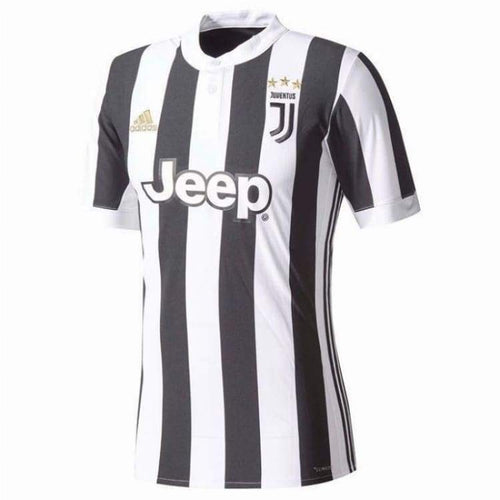 Jerseys / Soccer: Adidas Juventus 17/18 (H) S/s Kids Jersey Az8703 - 1718 Adidas Black/white Clothing Football