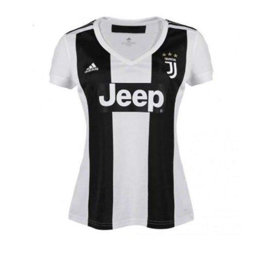 Jerseys / Soccer: Adidas Juventus 18/19 Home Woman S/s Jersey Cf3497 - Adidas / Xs / White / 1819 Adidas Clothing Home Kit Jerseys |