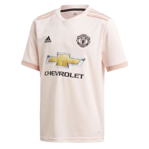 Jerseys / Soccer: Adidas Kids Manchester United 18/19 Away Jersey CG0055 - adidas / Kids: 128 / Pink / 1819 adidas Away Kit Boys Clothing |