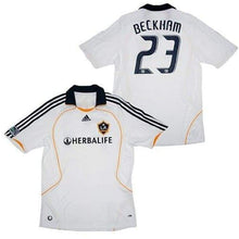 Jerseys / Soccer: Adidas La Galaxy 08/09 (H) S/s With #23 Beckham - 0809 Adidas Clothing Home Kit Jerseys