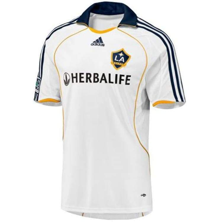 Jerseys / Soccer: Adidas La Galaxy 08/09 (H) S/s With #23 Beckham - Adidas / Xl / White / 0809 Adidas Clothing Home Kit Jerseys |