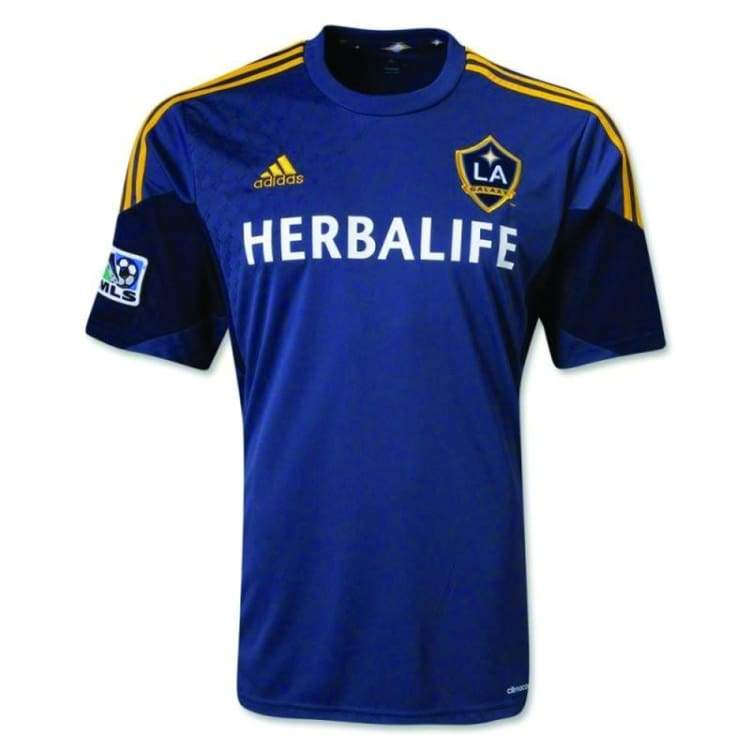Jerseys / Soccer: Adidas La Galaxy 13/14 (A) S/s Player Performance X57709 - Adidas / M / Blue / 1314 Adidas Away Kit Blue Clothing |