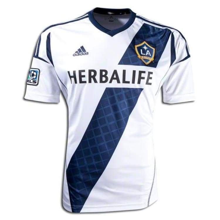 Jerseys / Soccer: Adidas La Galaxy 13/14 (H) S/s Player Performance Z41581 - Adidas / L / White / 1314 Adidas Clothing Home Kit Jerseys |