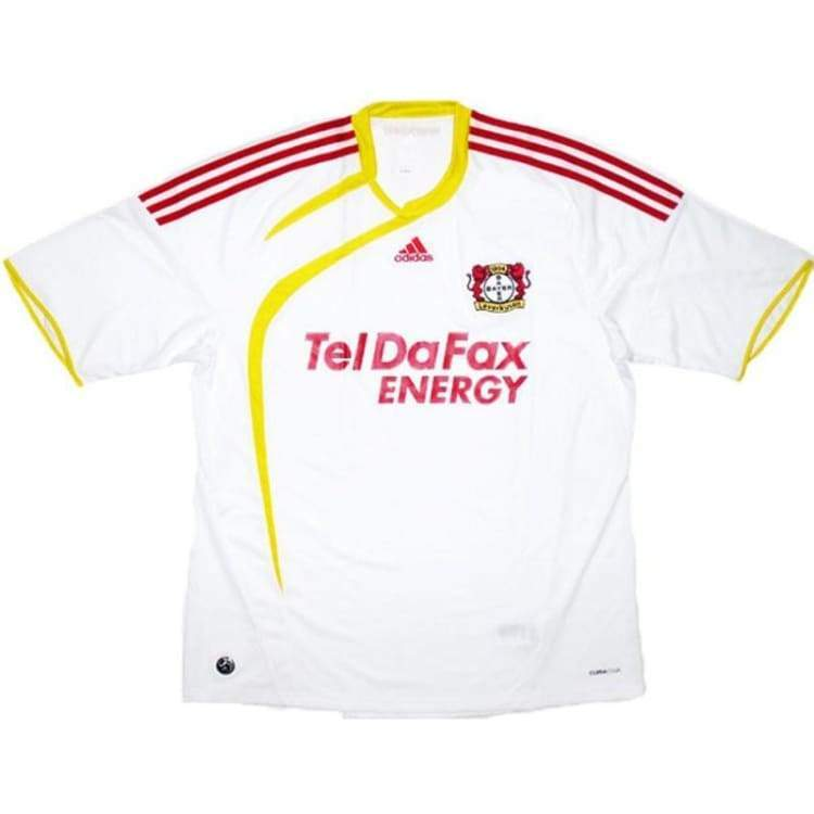 Jerseys / Soccer: Adidas Leverkusen 09/10 (A) S/s Z63778 - Adidas / M / White / 0910 Adidas Away Kit Clothing Jerseys |