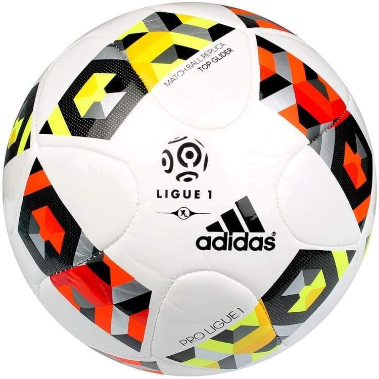 Balls / Soccer: Adidas Ligue 1 16/17 Top Glider Ao4813 - Adidas / 4 / White/red/yellow / 1617 Adidas Balls Balls / Soccer Gear |