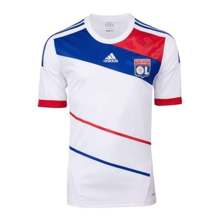 Jerseys / Soccer: Adidas Lyon 12/13 (H) S/s X23643 - Adidas / S / White / 1213 Adidas Clothing Home Kit Jerseys |