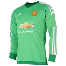 Jerseys / Soccer: Adidas Manchester United 15/16 (H) Gk L/s Jerey Ac1458 With Epl Name Print #1 De Gea - 1516 Adidas Clothing Goalkeeper