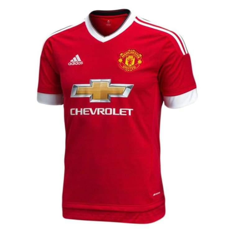 Jerseys / Soccer: Adidas Manchester United 15/16 (H) S/s Ac1414 - Adidas / Xs / Red / 1516 Adidas Clothing Home Kit Jerseys |