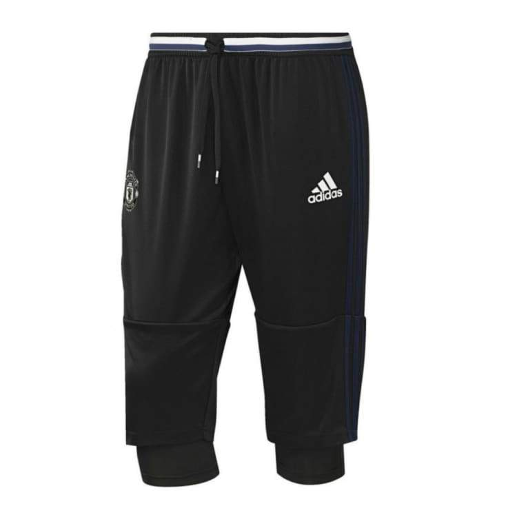 Pants / Training: Adidas Manchester United 16/17 3/4 Pants Ap0978 - Xl / Black / Adidas / 1617 Adidas Black Clothing Land |