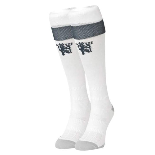 Socks / Soccer: Adidas Manchester United 16/17 (3Rd) Socks Wht Ai6725 - Adidas / Eur: 40-42 / White / 1617 Accessories Adidas Land
