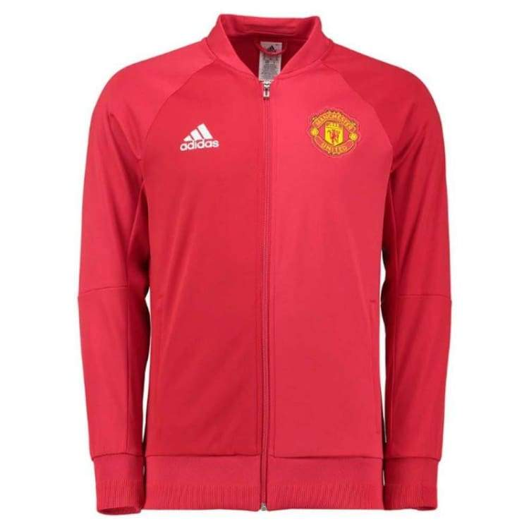 Jackets / Track: Adidas Manchester United 16/17 (H) Anth Jacket Red Ap1793 - Adidas / S / Red / 1617 Adidas Clothing Home Kit Jackets |