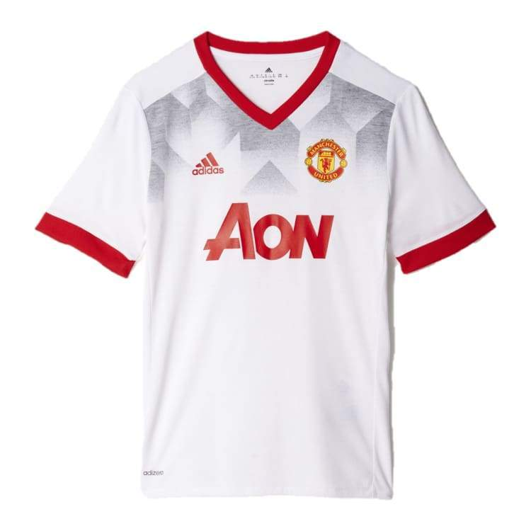 Jerseys / Soccer: Adidas Manchester United 16/17 (H) Pre-Match Jersey Bp9205 - Adidas / S / White / 1617 Adidas Clothing Football Home Kit |