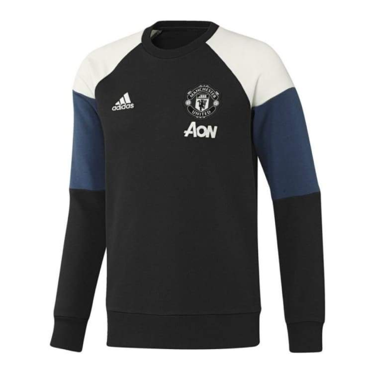 Hoodies & Sweaters: Adidas Manchester United 16/17 Sweat Top Co Blk Ap1000 - Adidas / 2Xl / Black / 1617 Adidas Black Clothing Hoodies &