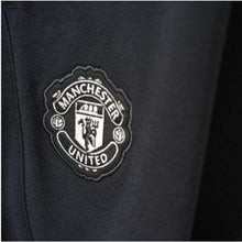 Pants / Sweat: Adidas Manchester United 16/17 Sweater Pants Bk Ap0999 - 1617 Adidas Black Clothing Land