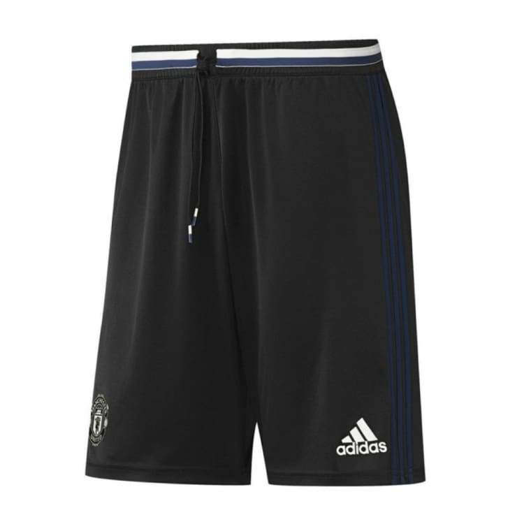 Shorts / Soccer: Adidas Manchester United 16/17 Training Shorts Youth Blk Ap1021 - Adidas / Kids: 152 / Black / 1617 Adidas Black Clothing