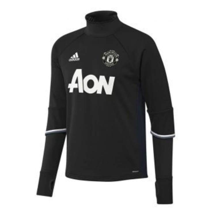 Tops / Warm Up: Adidas Manchester United 16/17 Training Top Bk Ap1023 - Adidas / 2Xl / Black / 1617 Adidas Black Clothing Land |