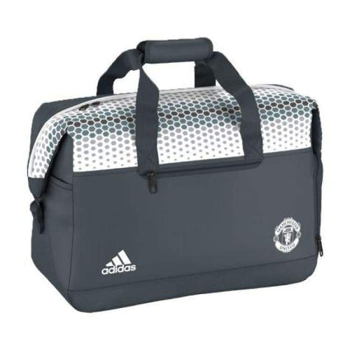 Bags / Messenger: Adidas Manchester United 16/17 Weeken Bag S95106 - Adidas / Grey/white / 1617 Accessories Adidas Bags Bags / Messenger |