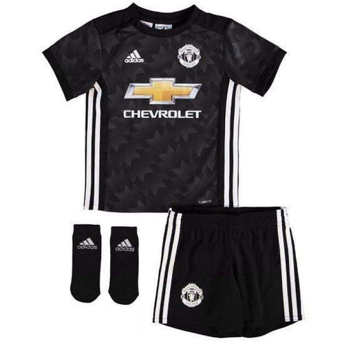 Jerseys / Soccer: Adidas Manchester United 17/18 (A) Baby Az7566 Size: 86 - Adidas / Kids: 86 / Black / 1718 Adidas Away Kit Black Boys |