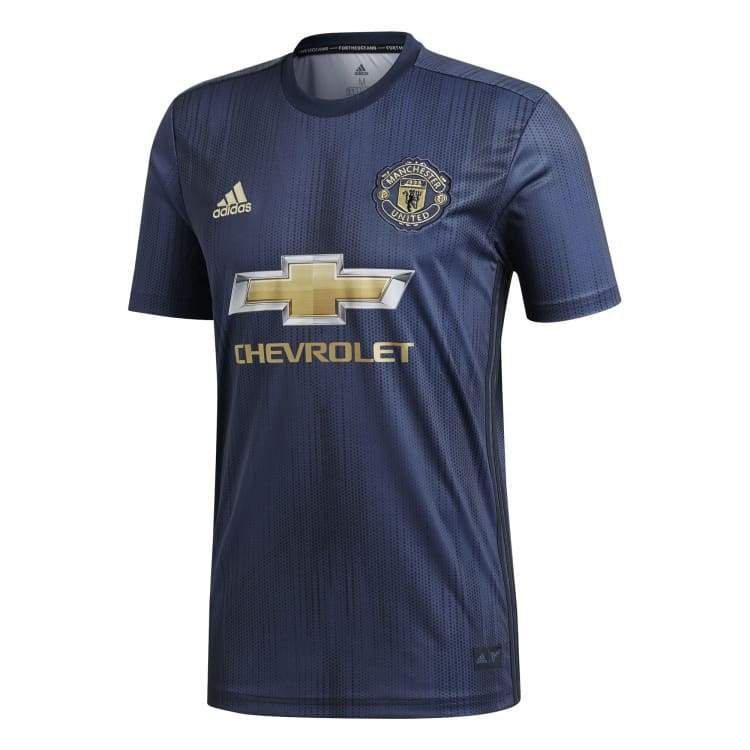 110967b21 Adidas Manchester United 18 19 (3rd) S S Authentic Jersey DP6021