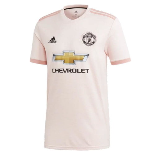Jerseys / Soccer: Adidas Manchester United 18/19 Away Jersey CG0038 - adidas / XS / Pink / 1819 adidas Away Kit Clothing Football |