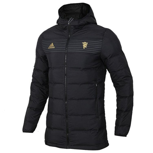 Jackets / Down & Insulated: Adidas Manchester United 18/19 Down Jacket CY6114 - adidas / S / Black / 1819 Adidas Black Clothing Jackets |