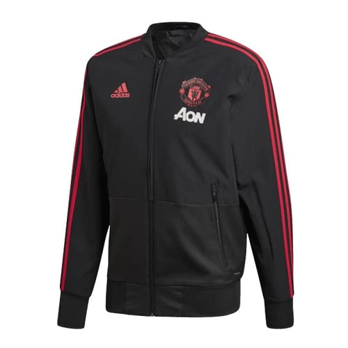 Jackets / Track: Adidas Manchester United 18/19 EU Presentation Jacket CW7628 - XS / Black / adidas / 1819 Accessories Adidas Black Clothing