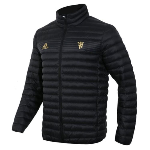 Jackets / Down & Insulated: Adidas Manchester United 18/19 Light Down Jacket CY6112 - adidas / XS / Black / 1819 adidas Black Clothing