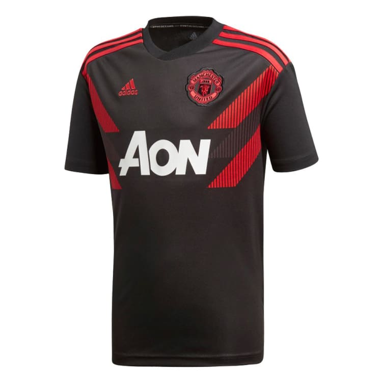 Adidas Manchester United Home Shirt 1819 Kinder