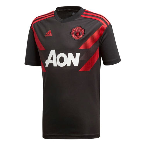 Jerseys / Soccer: Adidas Manchester United 18/19 Mufc H Pre Youth Jersey Cw5825 [Kids] - Adidas / Kids: 128 / Black / 1819 Adidas Black