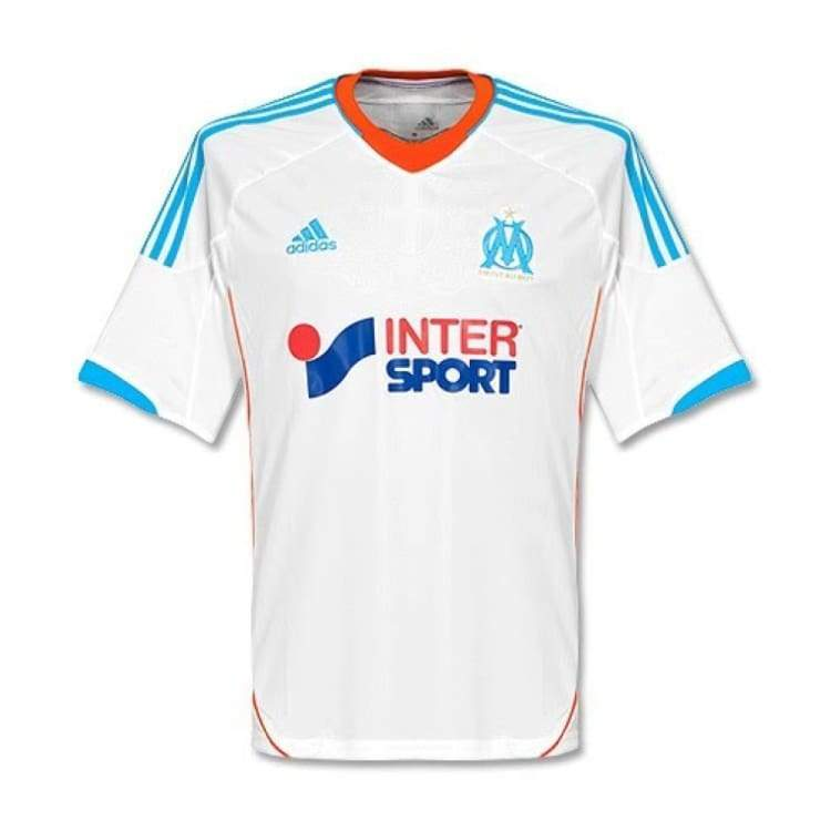 Jerseys / Soccer: Adidas Marseille 12/13 (H) S/s X21902 - S / White / Adidas / 1213 Adidas Clothing Home Kit Jerseys |