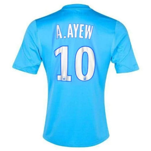 Jerseys / Soccer: Adidas Marseille 13/14 (3RD) S/S Jersey (#10 A.AYEW) Z27625 - adidas / S / Blue / 1314, Adidas, Blue, Clothing, Jerseys |