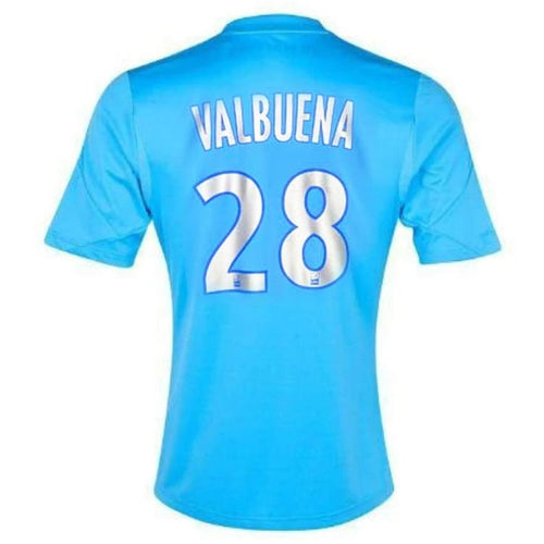 Jerseys / Soccer: Adidas Marseille 13/14 (3RD) S/S Jersey (#28 VALBUENA) Z27625 - adidas / M / Blue / 1314, Adidas, Blue, Clothing, Jerseys