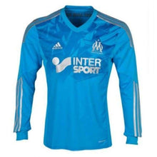Jerseys / Soccer: Adidas Marseille 13/14 (A) L/s G73358 - Adidas / M / Blue / 1314 Adidas Away Kit Blue Clothing |