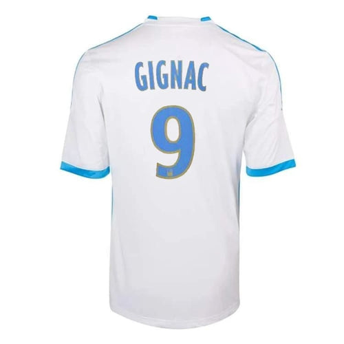 Jerseys / Soccer: Adidas Marseille 13/14 (H) S/S Jersey (#9 GIGNAC) Z27594 - adidas / S / White / 1314, Adidas, Clothing, Home Kit, Jerseys