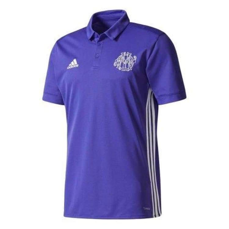 Polos / Short Sleeve: Adidas Marseille 17/18 (3Rd) S/s Mens Jersey Ce8205 - Adidas / S / Purple / 1718 Adidas Clothing Land Marseille |