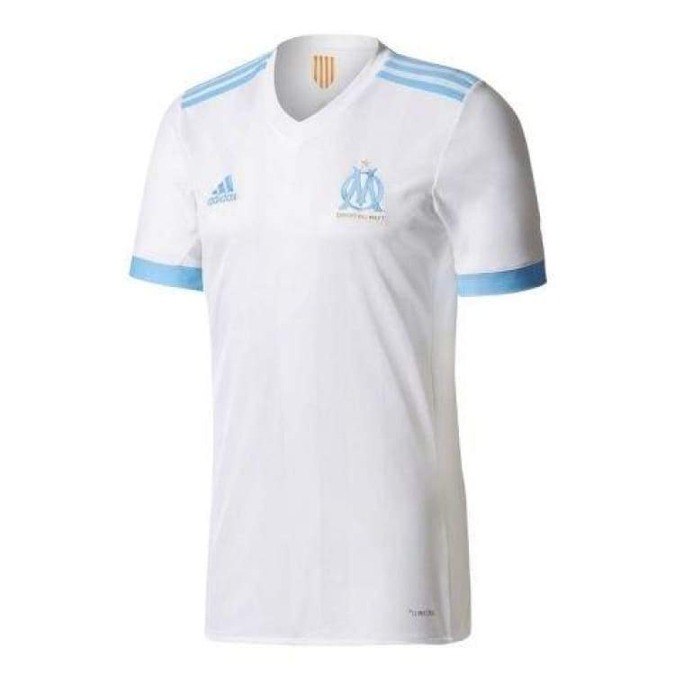 Jerseys / Soccer: Adidas Marseille 17/18 (H) S/s Mens Jersey Bk5346 - Adidas / S / White / 1718 Adidas Clothing Home Kit Jerseys |
