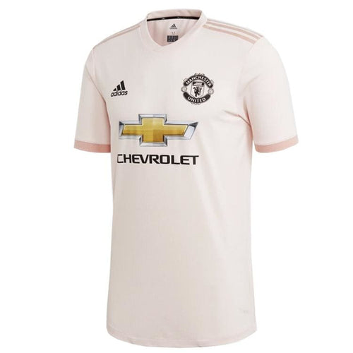 Jerseys / Soccer: Adidas Mens Manchester United 18/19 Away Authentic Jersey CG0080 - adidas / XS / Pink / 1819 Adidas Away Kit Clothing