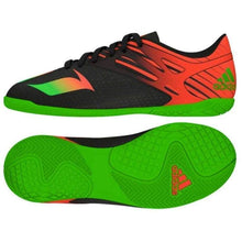 Shoes / Soccer: Adidas Messi 15.4 Indoor Junior Bk/gn/rd Af4678 - Adidas Boys Footwear Kids Land