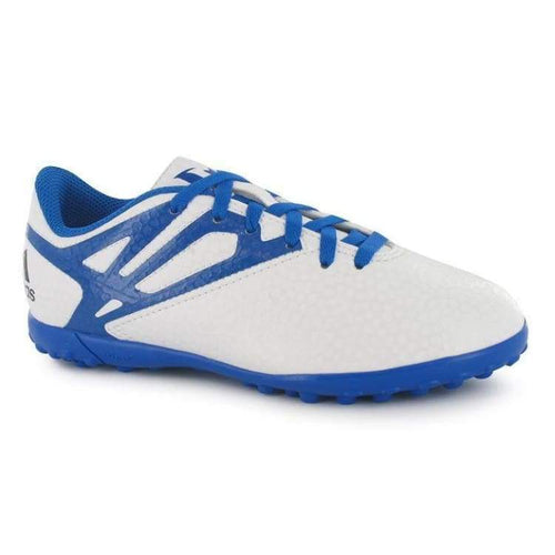 Shoes / Soccer: Adidas Messi 15.4 Tf J Wht/bu/bk B25452 - Adidas / Uk: 3.5 / Blue / Adidas Blue Boys Footwear Kids |