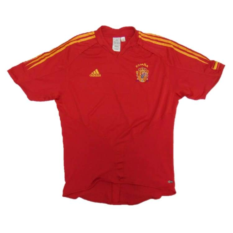 Jerseys / Soccer: Adidas National Team 2004 Spain (H) S/s Jersey - Adidas / L / Red / 2004 Adidas Clothing Home Kit Jerseys |